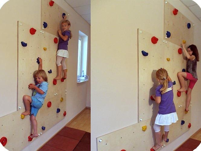 Скалодром своими руками для детей дома