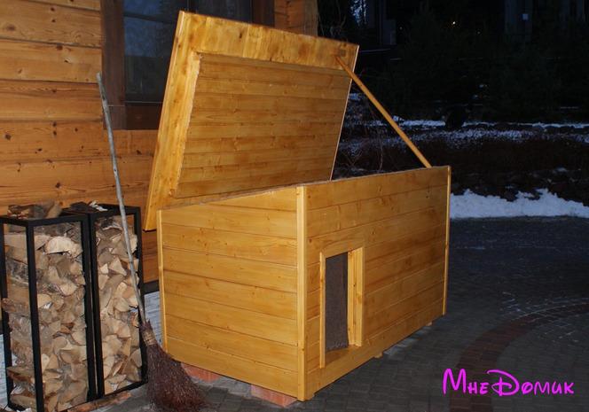 Как сделать теплую будку для собаки своими